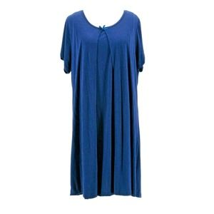 Lamaze Maternity Blue Casual Dress Size Medium NEW
